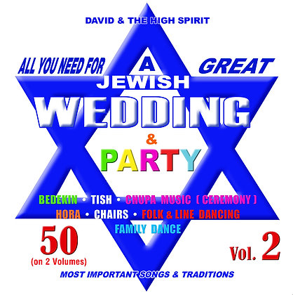 All you need for a great Jewish Wedding Vol. 2