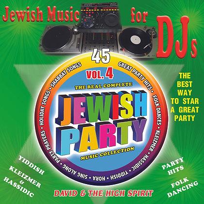 Jewish Music for DJs Vol. 4