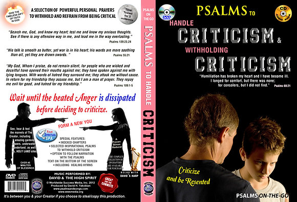 To Handle Criticism & withholding Criticism
