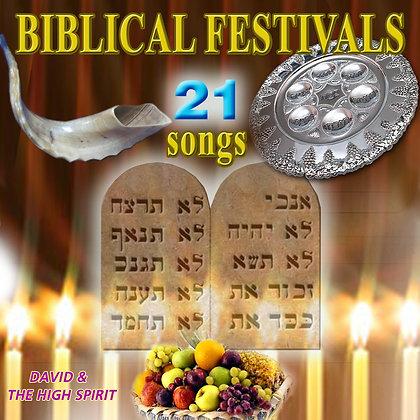 Biblical Festivals 21 Songs