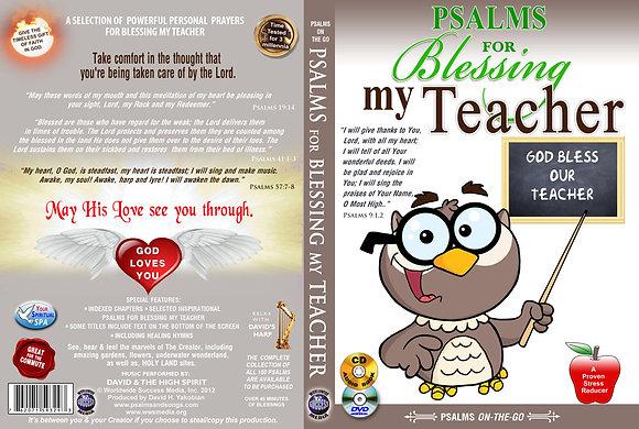 For Blessing My Teacher