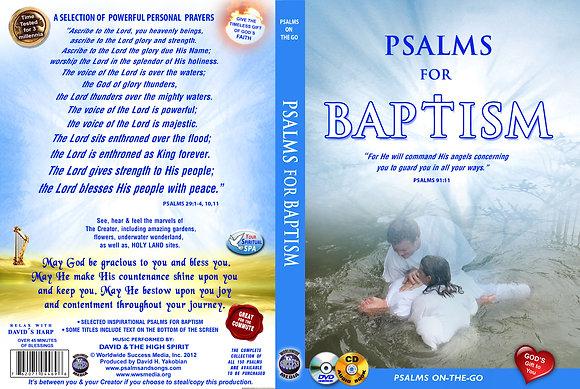For Baptism (Adult)