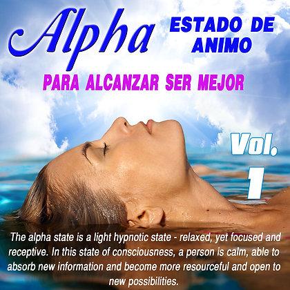 Alpha Estado de Animo, Vol. 1