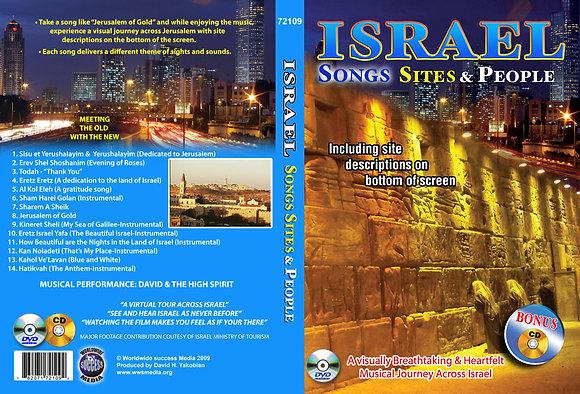 Israel - Songs, Sites & People
