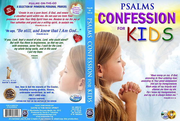 Psalms Confession for Kids