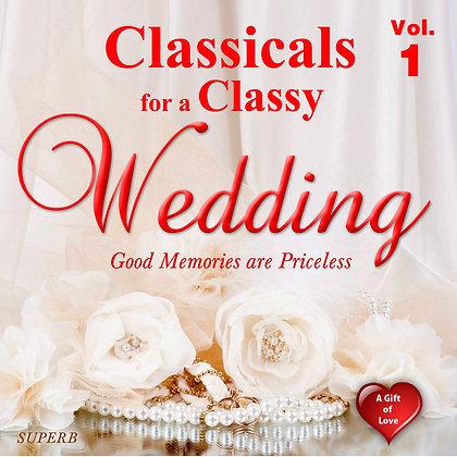Classicals for a Classy Wedding, Vol. 1