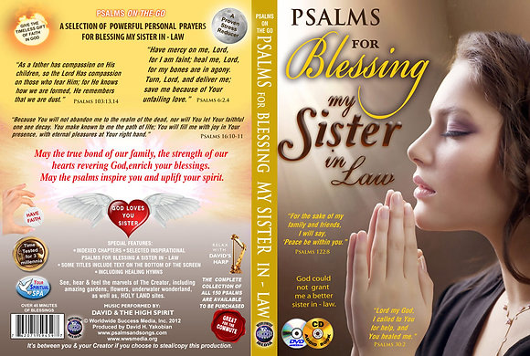 Psalms for Blessing my Sister in Law
