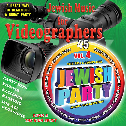 Jewish Music for Videographers Vol. 4