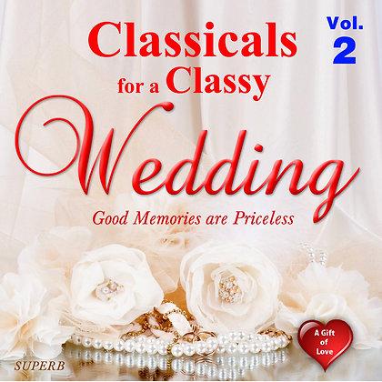 Classicals for a Classy Wedding, Vol. 2