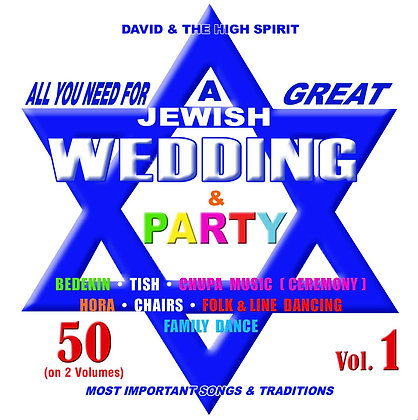All you need for a great Jewish Wedding Vol. 1