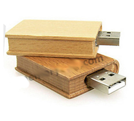 USB Wooden Book with Psalms