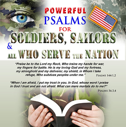 Powerful Psalms for Soldiers & Sailors