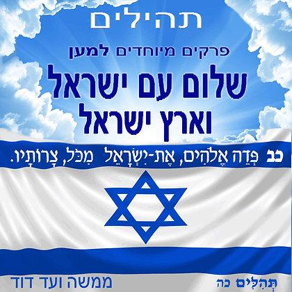 פרקים מיוחדים למען שלום עם ישראל וארץ ישראל