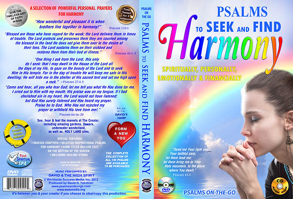 To Seek and Find Harmony