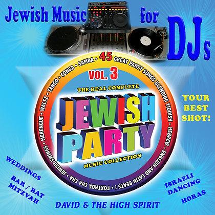 Jewish Music for DJs Vol. 3