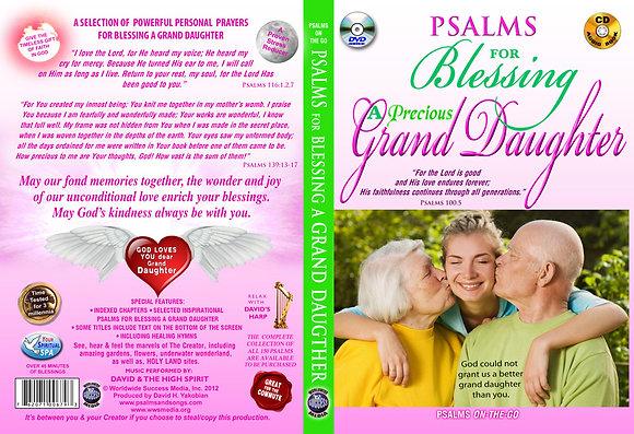 For Blessing a Precious a Grand Daughter