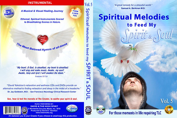 Spiritual Melodies to feed my Spirit and Soul
