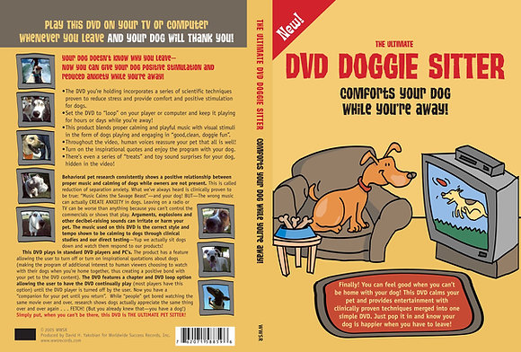 The Ultimate DVD Dogie Siter