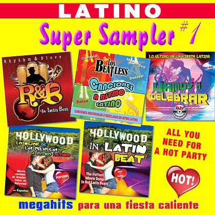 Latino Super Sampler # 1