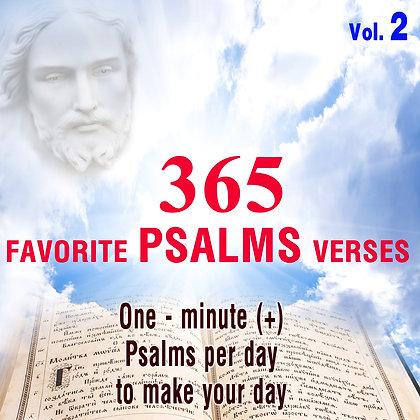 365 Favorite Psalms Verses Vol. 2