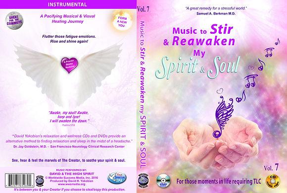 Music to Stir & Reawaken my Spirit and Soul