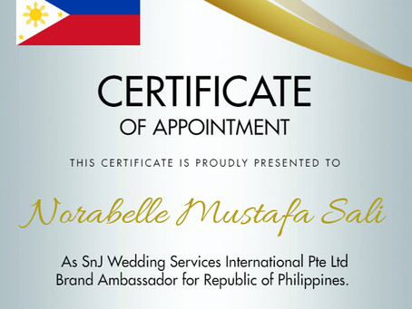 Introducing our SnJ Global Brand Ambassador!!