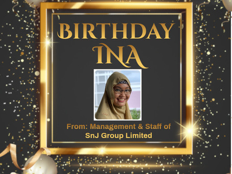 Happy Birthday Ms. Ina