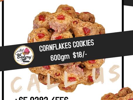 Good Old Days Cornflakes Cookies