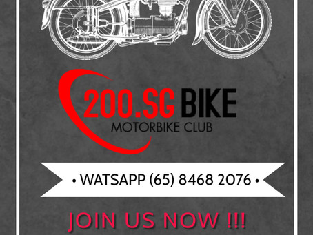 200.SG MOTORCYCLE CLUB ... JOIN US!!!