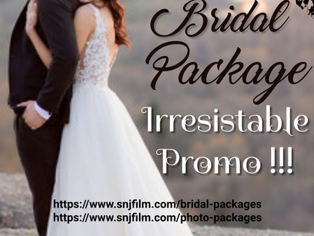 MIND BLOWING !! Bridal Packages & Photography Services