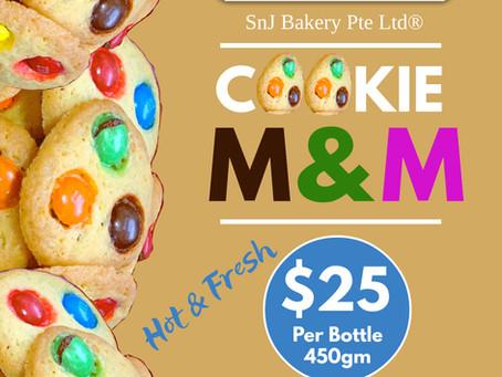 COOKIE MMONSTER M&M Cookies!!