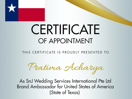 Global Brand Ambassador - State of Texas USA
