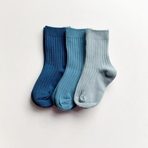Ribbed Socks - Deep Sea Collection