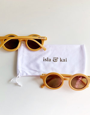 Sustainable Sunglasses - Goldie
