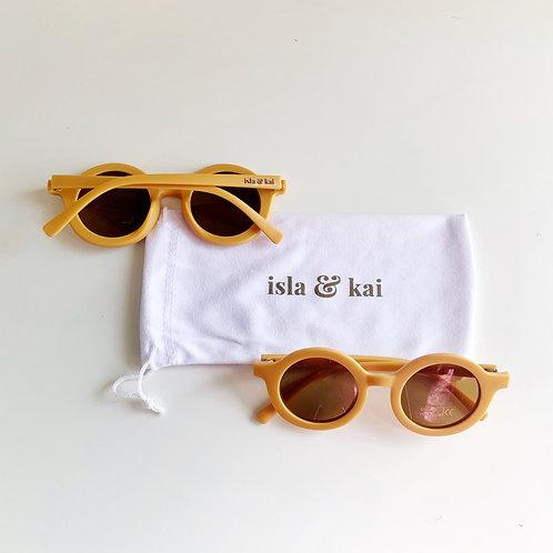 Sustainable Sunglasses - Goldie
