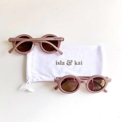 Sustainable Sunglasses - Plum