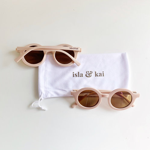 Sustainable Sunglasses - Seashell