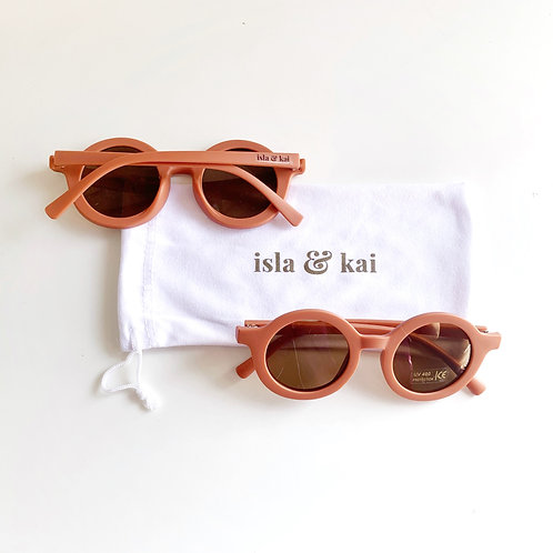 Sustainable Sunglasses - Amber