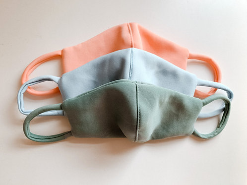 Reusable Kids Face Mask Set - Pastel Collection