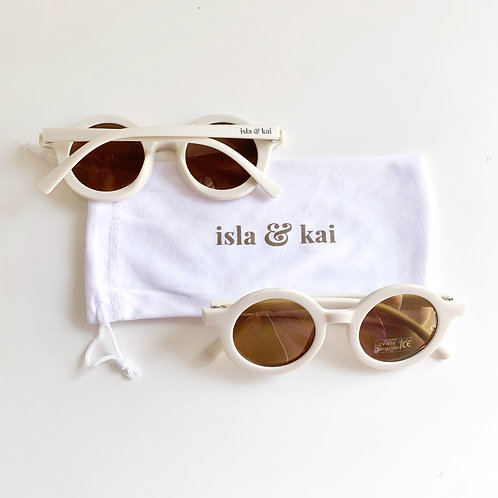 Sustainable Sunglasses - Oat Milk