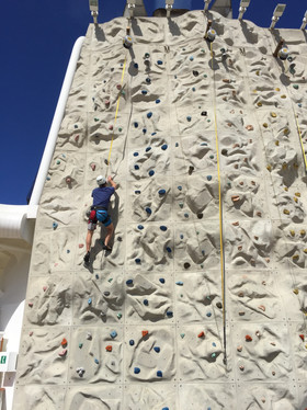 Rockwall climbing