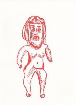 female figure, oaxaca