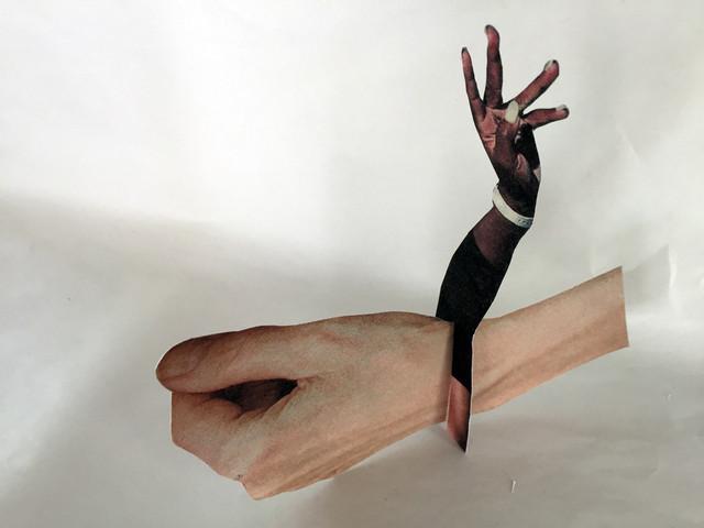 paper sculpture prototype B