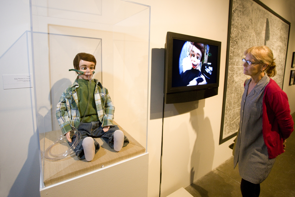 installation of video and dummy