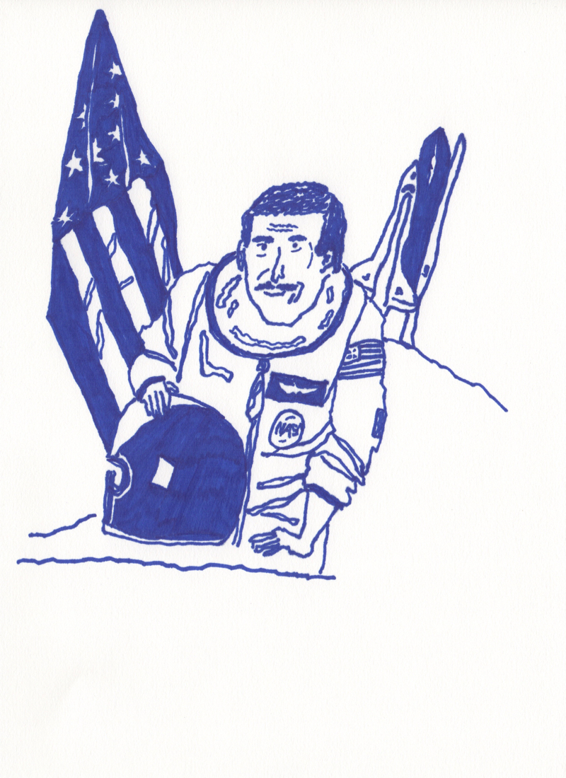 austronaut charlie camarda