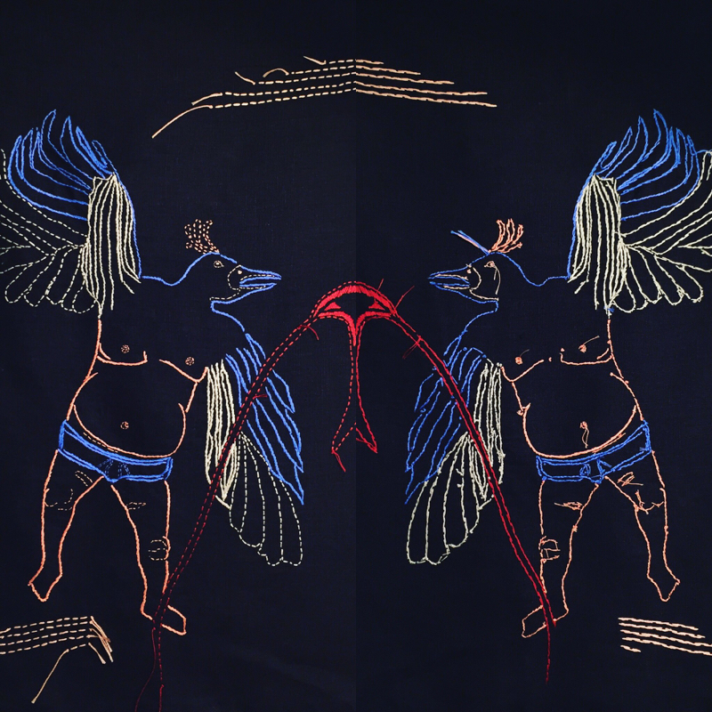 birdman (double sided embroidery)