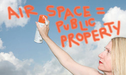 the airspace is public property