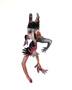 dancer, hiding/revealing