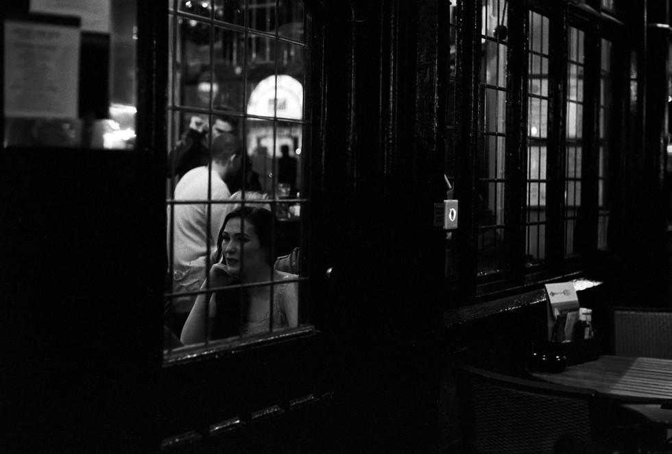 London 2013 • Girl in tavern