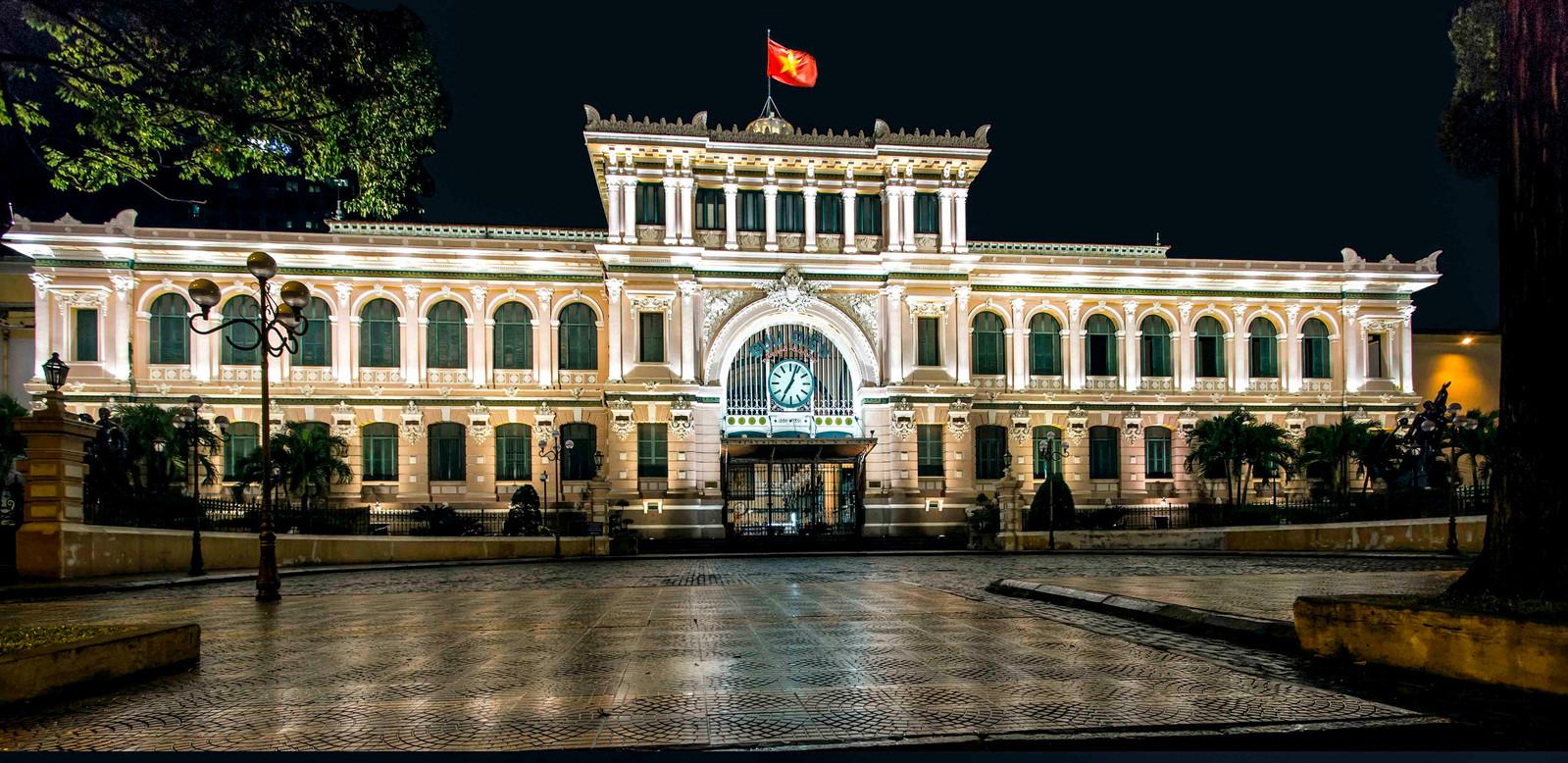 47 • La grande poste - Hô Chi Minh Ville